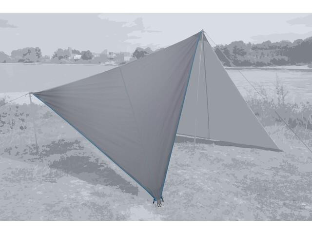 Bent Canvas Plain Set high rise/zipper light blue